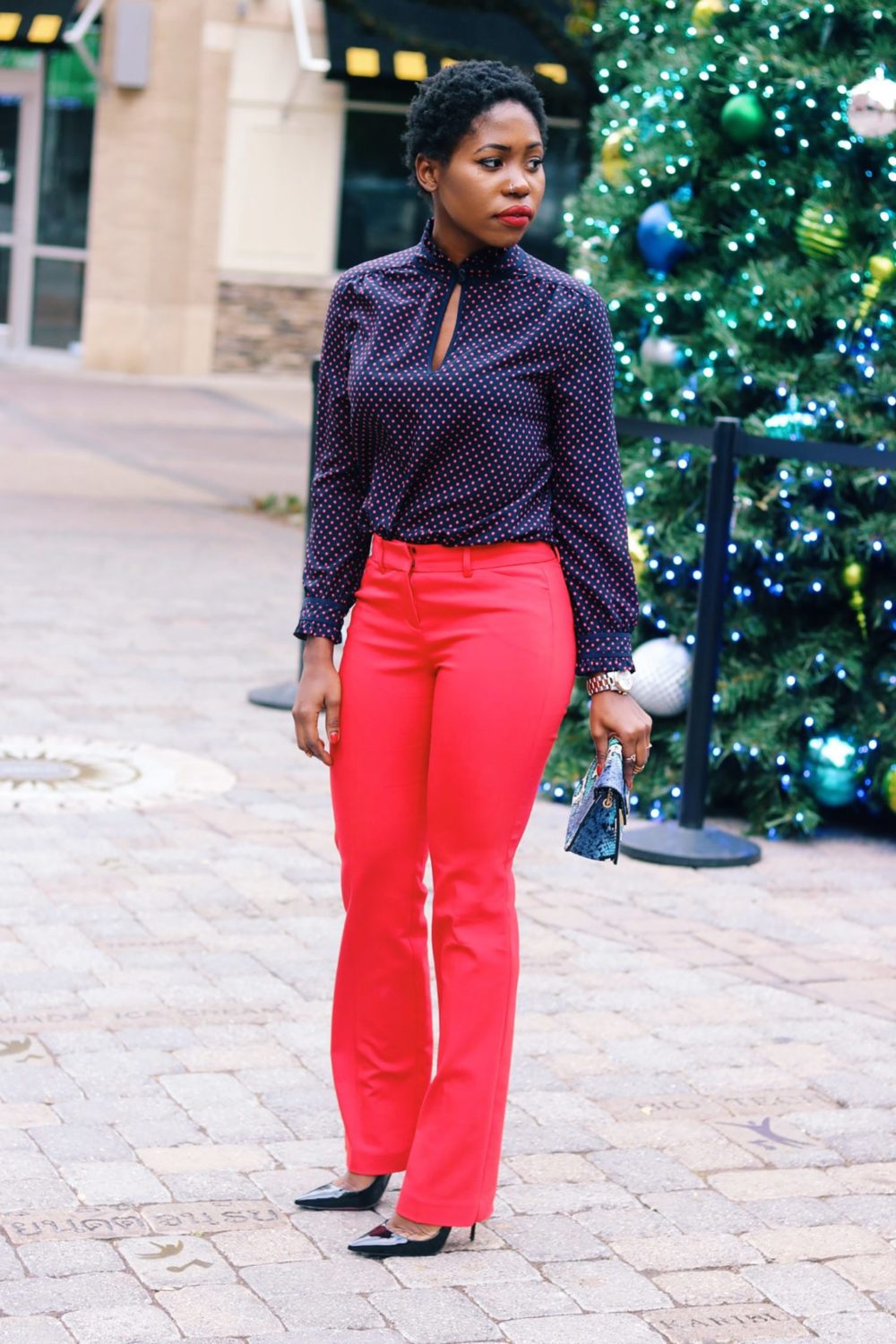 style-synopsis-polka-dot-top-flare-pants