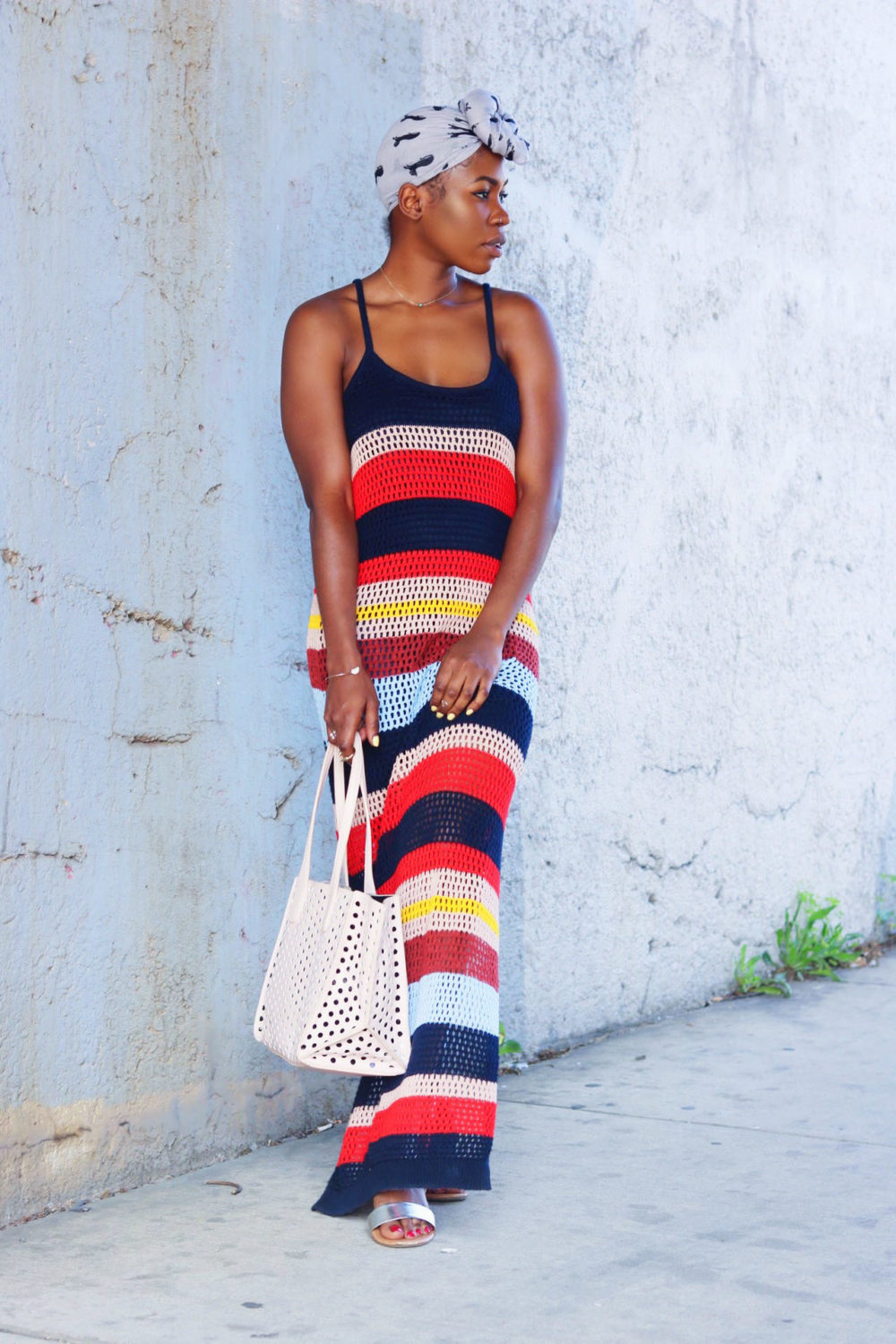 style-synopsis-block-striped-multicolored-dress-beach-wear
