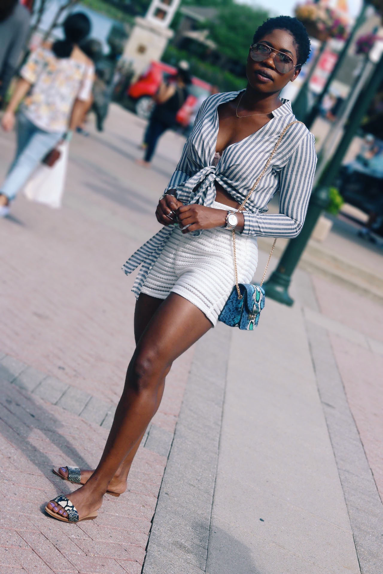 style-synopsis-striped-crop-top-high-waist-shorts