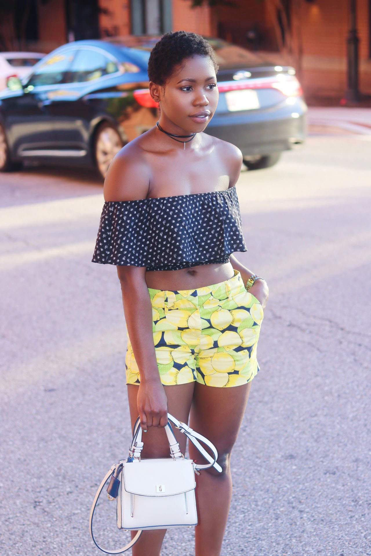 style-synopsis-polka-dot-off-shoulder-crop-top-lemonde-print-shorts