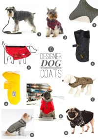 SHOP THE TREND: 10 Must Have Designer Dog Coats