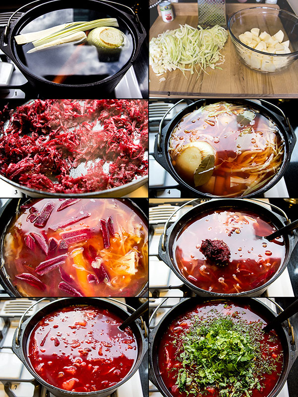 Low calorie Borscht recipe for a hearty fall and winter meal