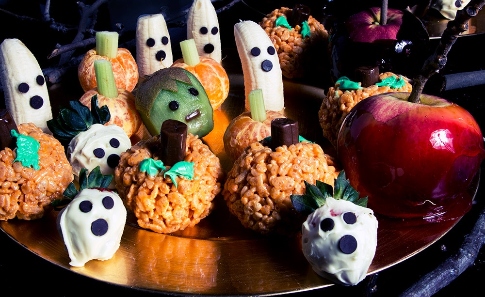 Halloween sweet snacks DIY recipes