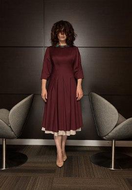 FW15 reversible dress