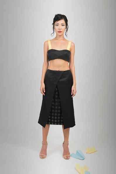 Option 1: Skirt and bralet