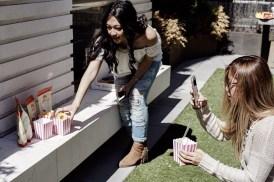Kelsey of RunawayinLa.com and Aimee of SincerelyAimee.com