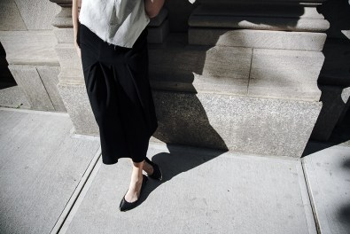 Comme des Garcons NYC blogger street style