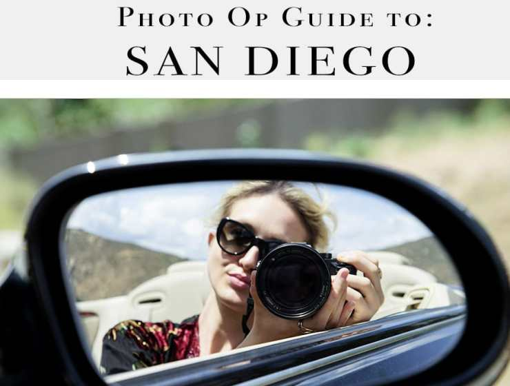 Fashion Blogger's San Diego: Great Spots for Photos
