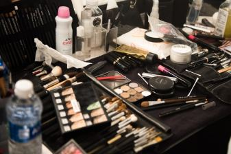NYFW Backstage at Prabal Gurung SS17 with Mac Cosmetics. Get the makeup look with this step by step tutorials from Sarah McGonagle.