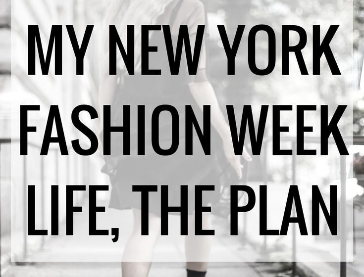 NYFW Street Style Outfit Planning