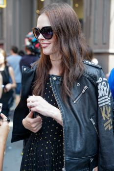 NYFW Street Style September 2016 SS17 Coco Rocha Rebecca Minkoff