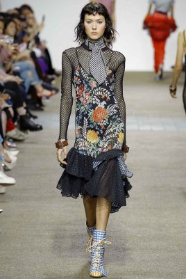 House of Holland London Spring 2017 Trends // Photo via Vogue.com