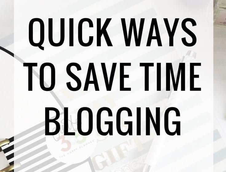 Work Less, Live More: Save Time Blogging