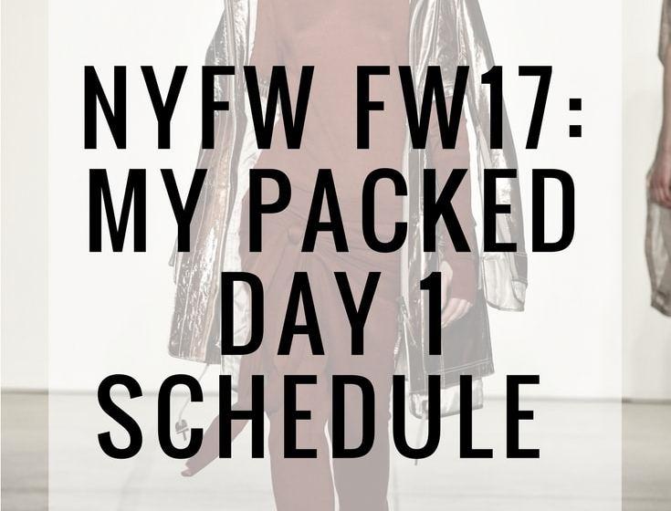 New York Fashion Week 2017 fashion blogger