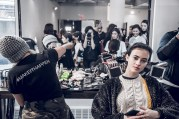Blogger Backstage: Public School backstage NYFW Fall 2017 - Get the look