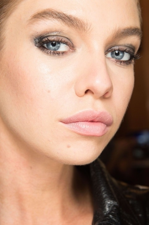 Balmain Spring 2017 creative makeup beauty trends