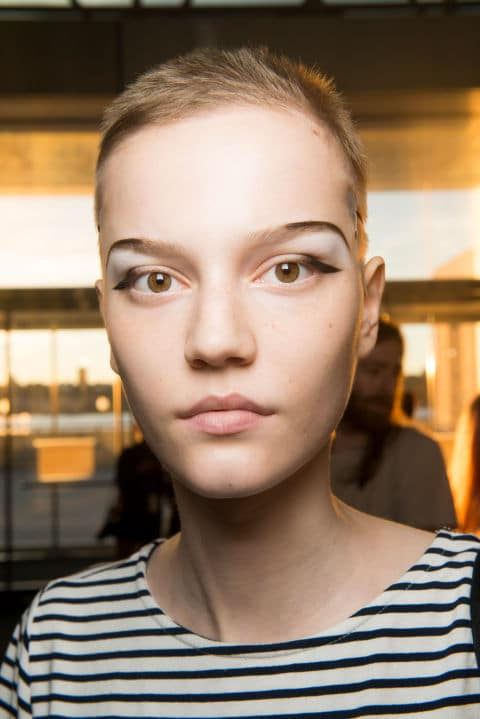Opening Ceremony Spring 2017 creative makeup beauty trends