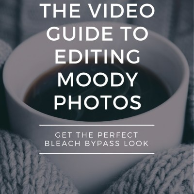 How To Edit Photos With Bleach Bypass Effect Without Having A Meltdown
