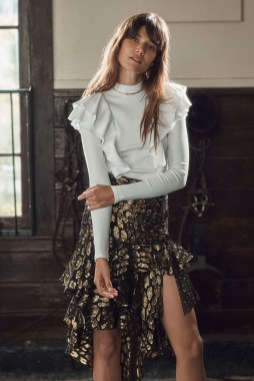 # Most Inspiring Looks from Resort 2018 Runway Collections 121