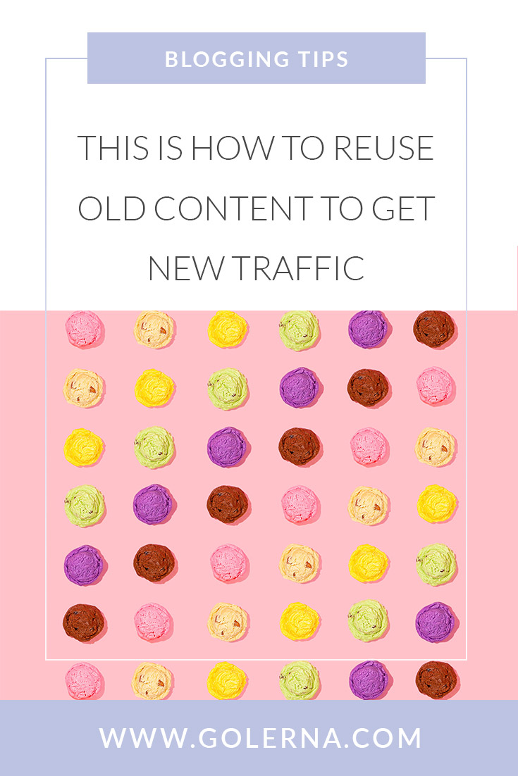 Lerna reuse old blog content for traffic article