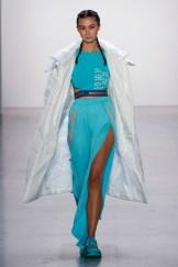 Liu Yong X Rishikensh New York Fashion Week Spring 2020 ©Imaxtree