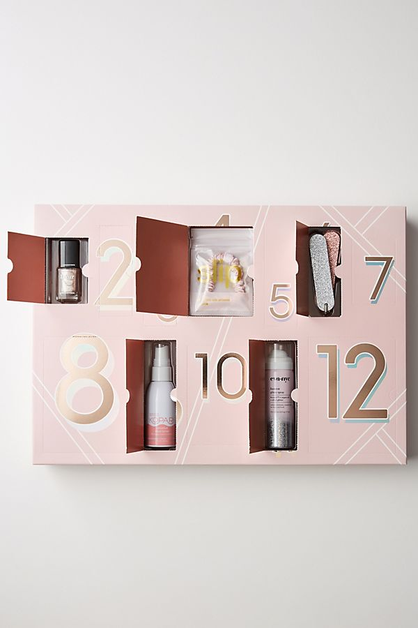 Anthropologie 12 Days of Party Prep Beauty Advent Calendar