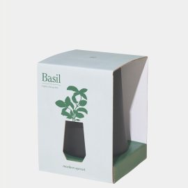 Modern Sprout Basil Indoor Garden Kit