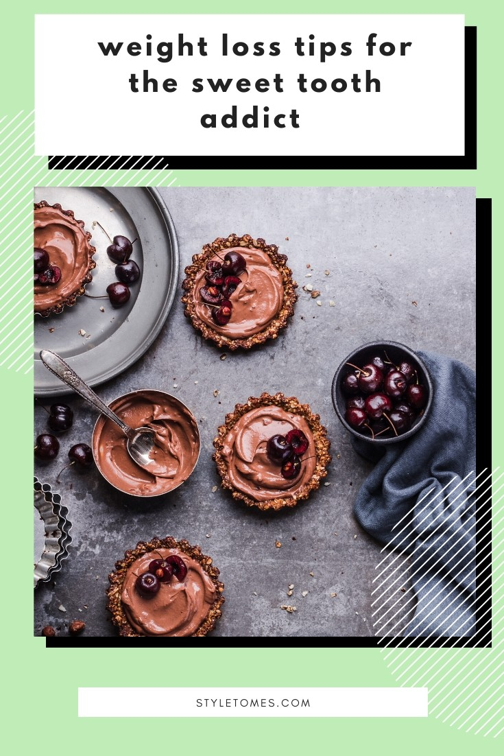 Reducing calories works, but eating lower-calorie substitutes of my favorite foods is even better. I'm satisfying my sweet tooth with this healthy dessert and still losing weight. #weightloss #dessertrecipes #healthydesserts