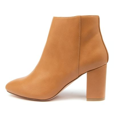 A:list Moss Ai Tan Boots Womens Shoes Casual Ankle Boots