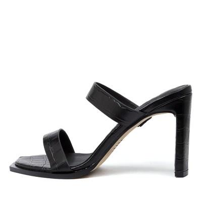 Alias Mae Cleo Am Black Sandals