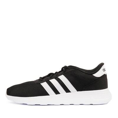 Adidas Neo Lite Racer Black White Whi Sneakers