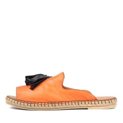 Beltrami Humming Orange Multi Sandals