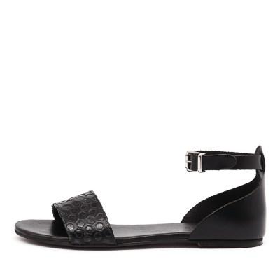 Beltrami Gabriela Nero Sandals