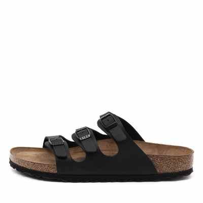 Birkenstock Florida Sfb Black Sandals