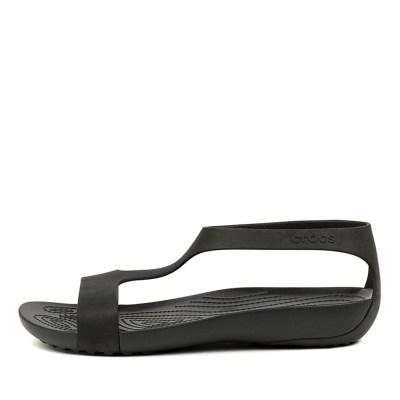 Crocs Serena Sandal W Black Black Sandals