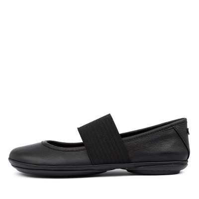 Camper Right Nina Ballet Black Shoes