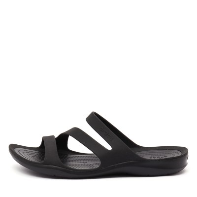Crocs Swiftwater Sandal Black Black Sandals