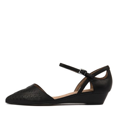 Diana Ferrari Polonia Black Shoes