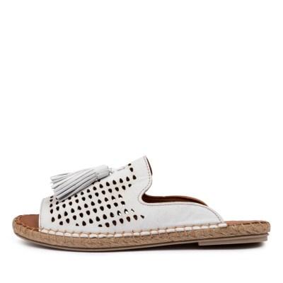 Diana Ferrari Cristen Df Blanco (White) Sandals