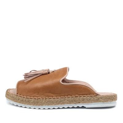 Diana Ferrari Wailin Df Nude Cuero (Tan) Sandals