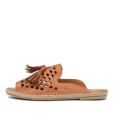 Diana Ferrari Carmelle Df Cuero (Tan) Sandals
