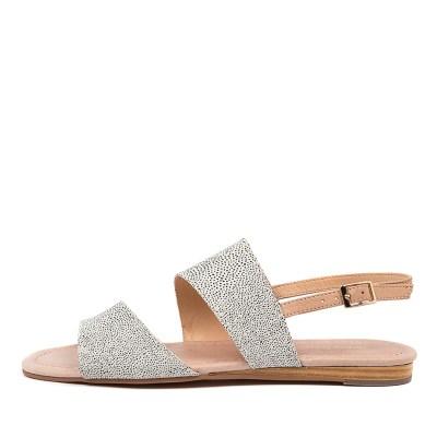 Diana Ferrari Youngsa Df White Dot Dk Nude Sandals
