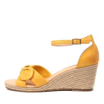 Diana Ferrari Jennalea Df Yellow E Sandals