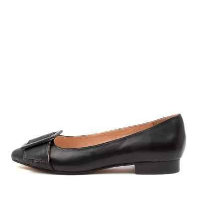 Diana Ferrari Debreenie Df Black Black Heel Shoes Womens Shoes Casual Heeled Shoes