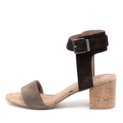 Diana Ferrari Amalia Brown Multi Sandals