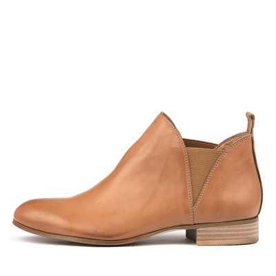 Django & Juliette Foe Dk Tan Boots