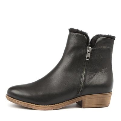 Django & Juliette Rush Black Boots