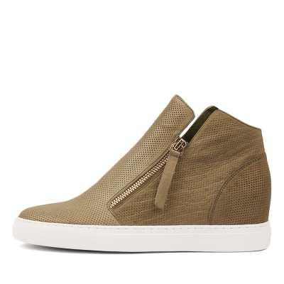 Django & Juliette Gisele Khaki Sneakers