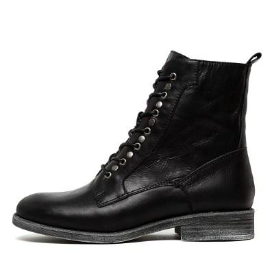 Django & Juliette Menzel Black Boots