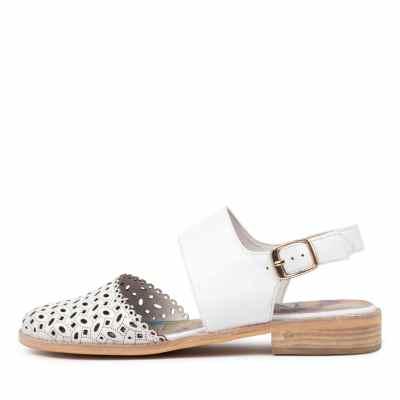 Django & Juliette Alfred Dj White Shoes